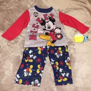 Mikey Mouse 2 piece pajama set- 24M